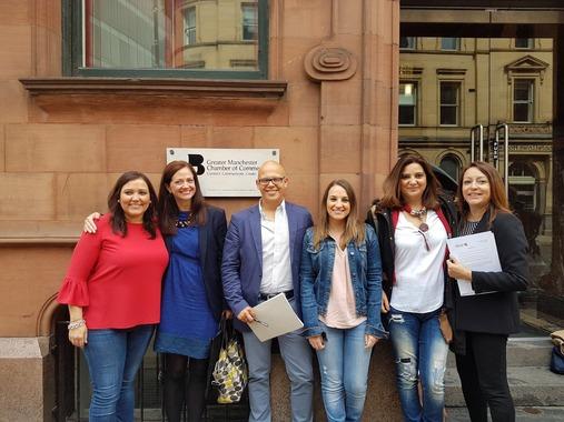 Fundecor junto a Iprodeco en Manchester: proyecto europeo SME-GAP