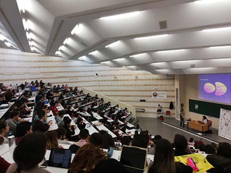 Cientos de estudiantes y futuros emprendedores participan en las actividades de la Cátedra Andalucía Emprende