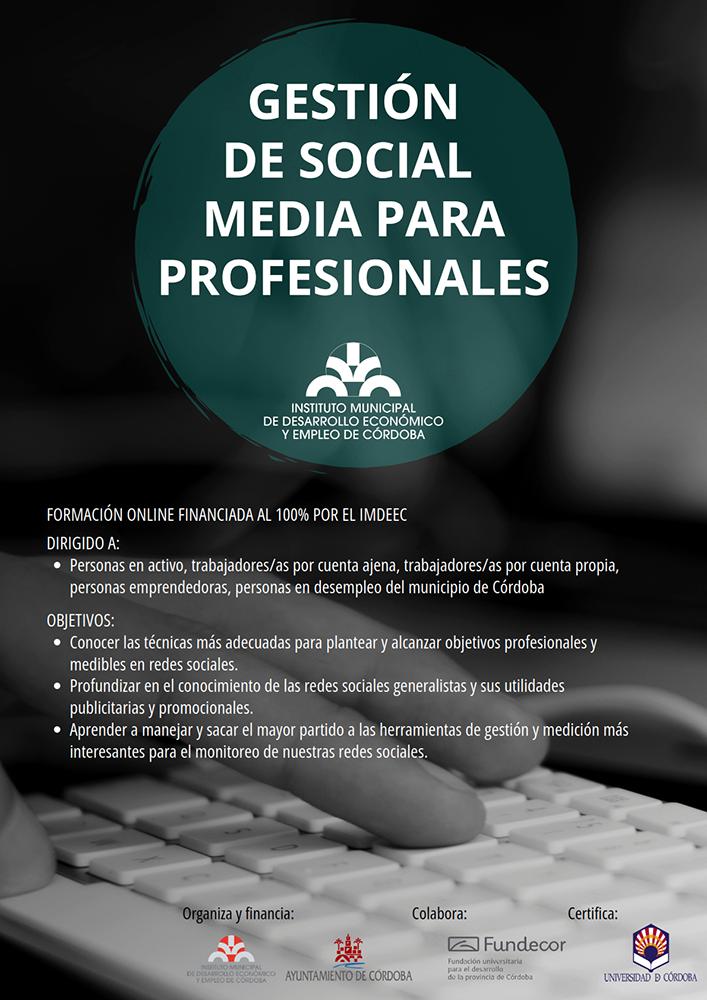 Gestión de Social Media para profesionales