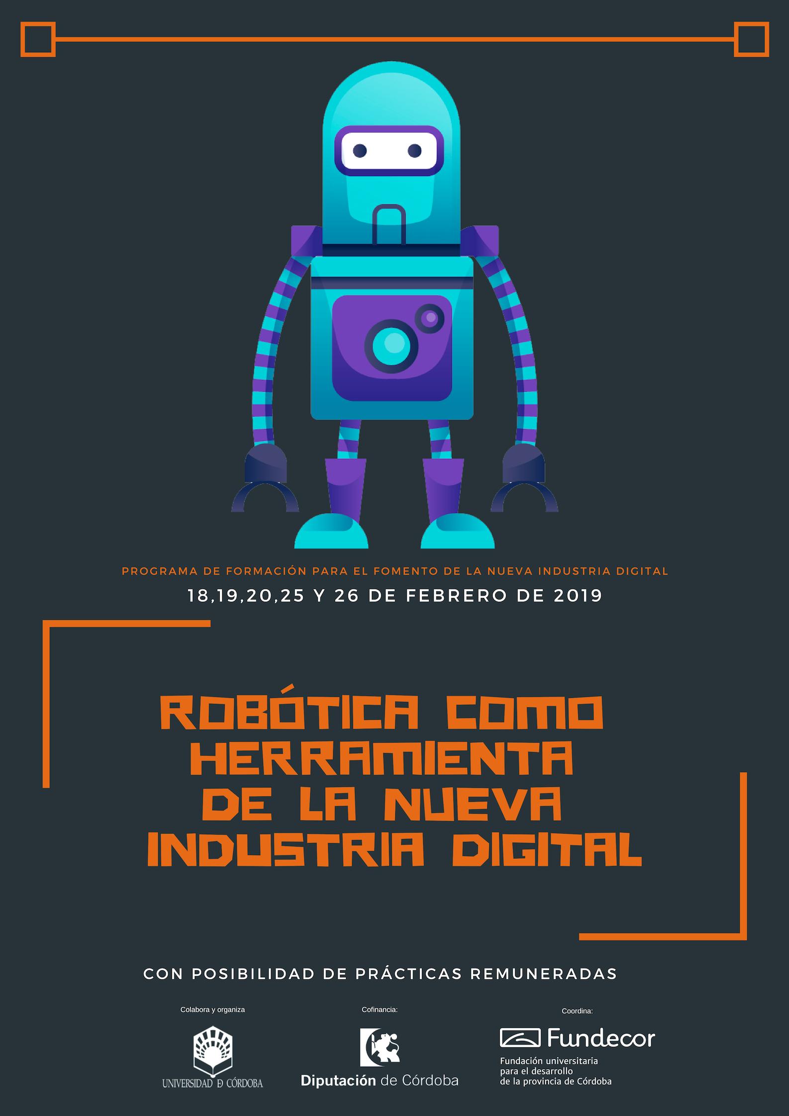 Robótica como herramienta de la nueva industria digital