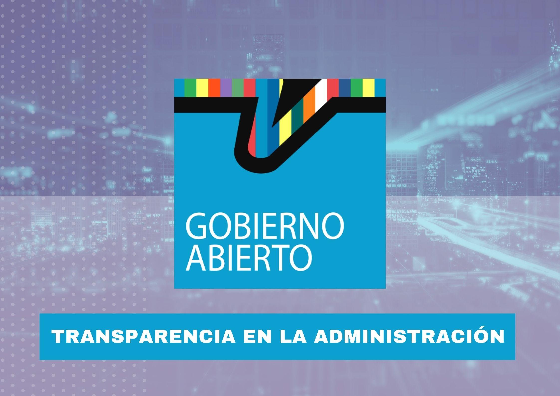 Gobierno abierto: transparencia, participación ciudadana y rendición de cuentas