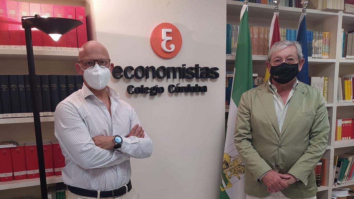 Reunión entre el Colegio de Economistas de Córdoba y Fundecor