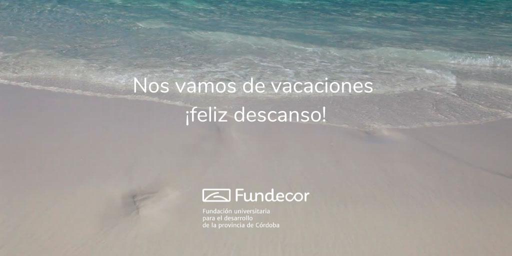 ¡Nos vamos de vacaciones!