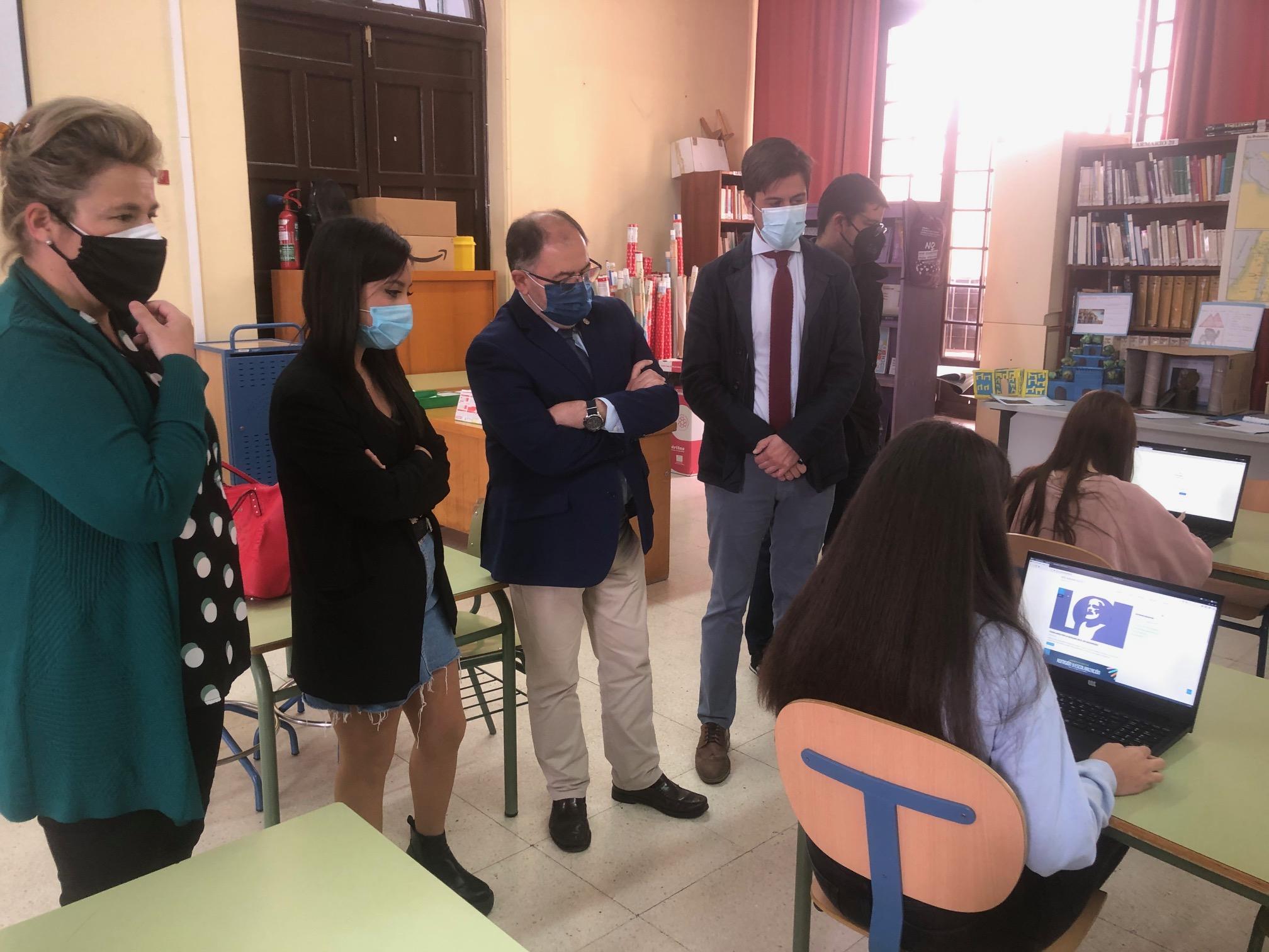 El Instituto Maimónides y el Instituto Medina Azahara, ambos de Córdoba, participan junto a centros de Holanda, Alemania, Italia y Turquía en un proyecto piloto pionero en Europa